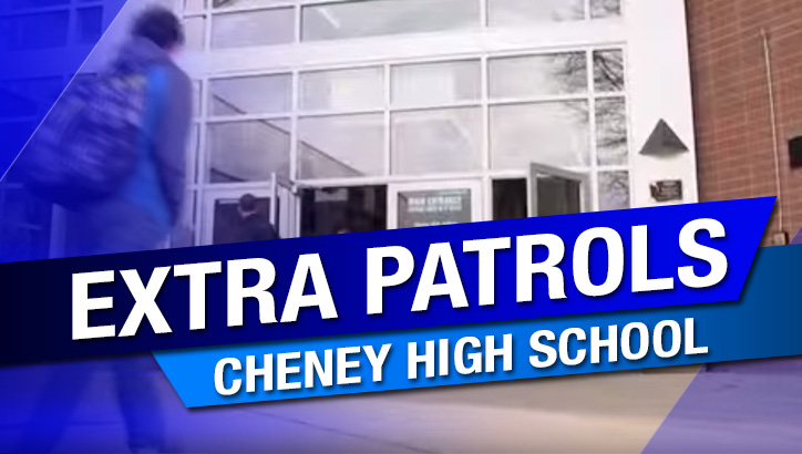 Social media threat prompts extra patrols at Cheney High School