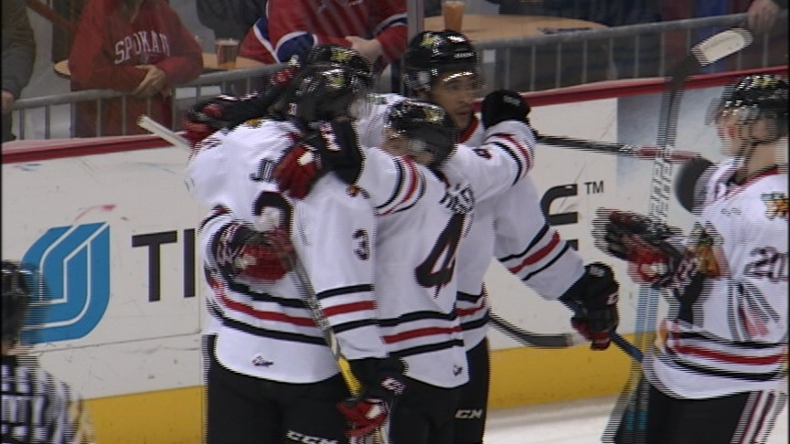 Early power play goals sink undermanned Chiefs