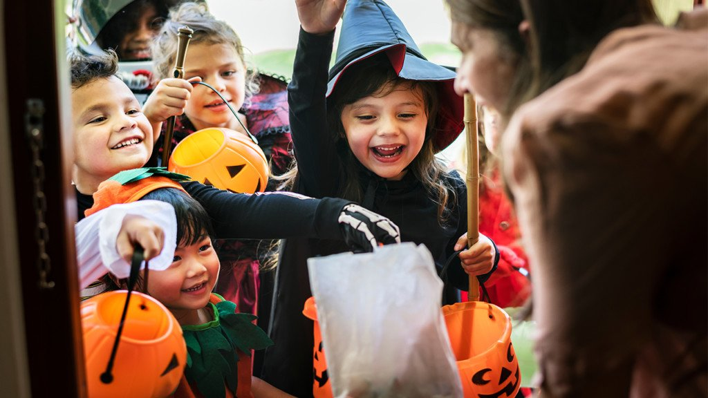 Where your kids can trick-or-treat without knocking on strangers' doors