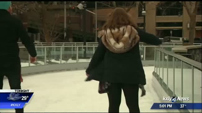 City of Spokane responds to tragedy on their new ice ribbon