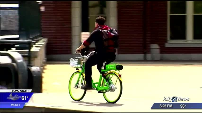 City demos new bike share program
