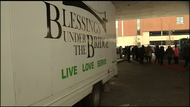 City tells Blessings Under the Bridge to leave I-90 overpass