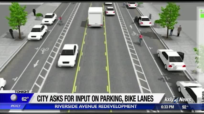 City wants input on bike lanes, parking on future Riverside Ave.