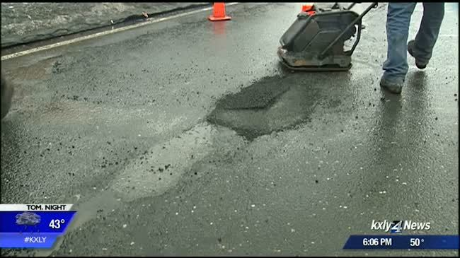 City working to fill potholes despite poor road conditions