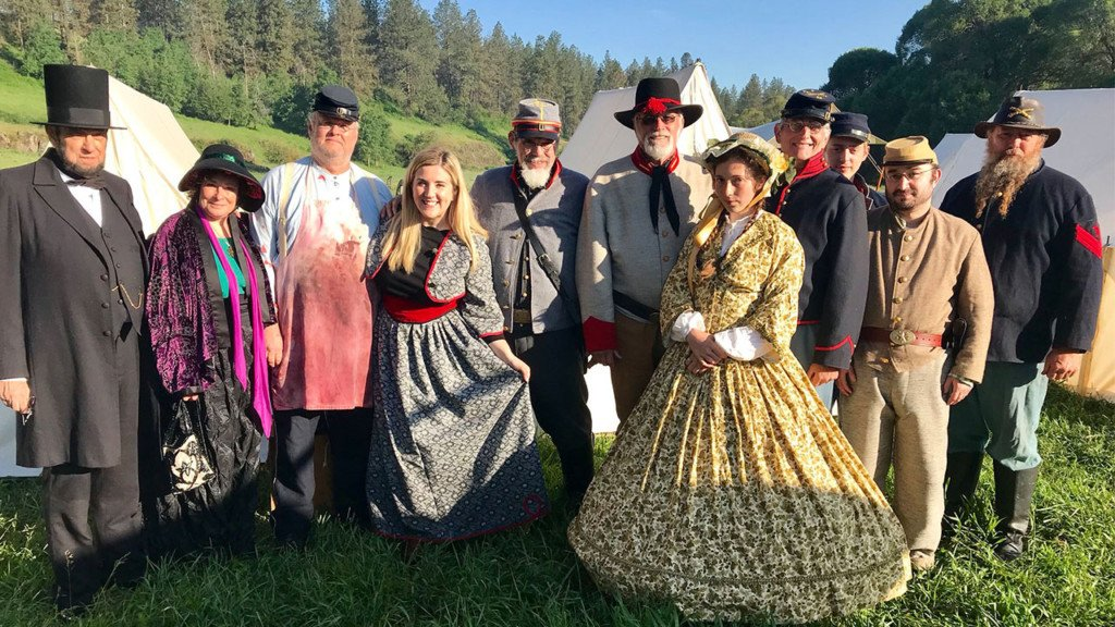 Journey back to the Civil War-era with the annual Battle at Deep Creek