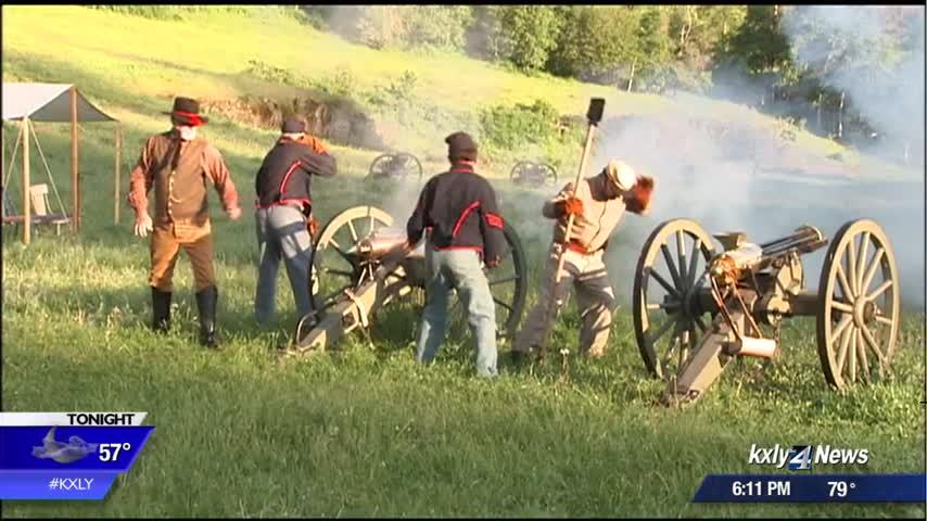Civil War reenactors to put on the Battle of Gettysburg in Medical Lake this weekend