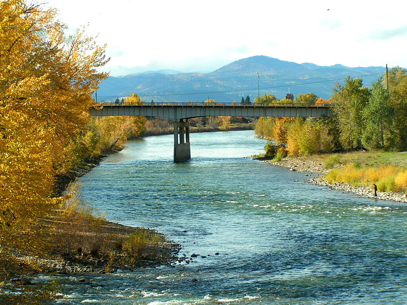 Clark Fork reaches major flood level near Missoula