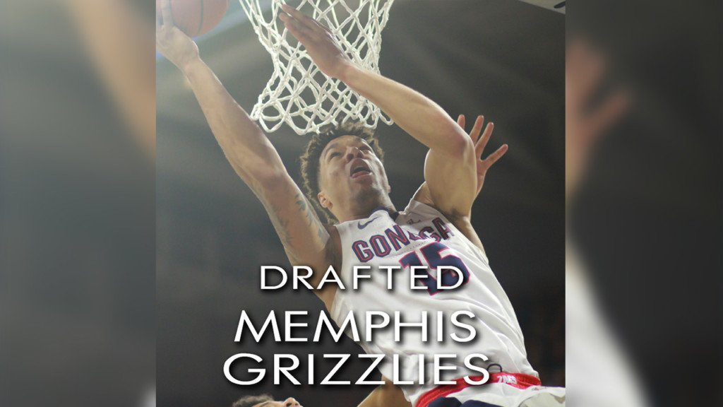 Brandon Clarke drafted 21st by the Oklahoma City Thunder, traded to Memphis Grizzlies