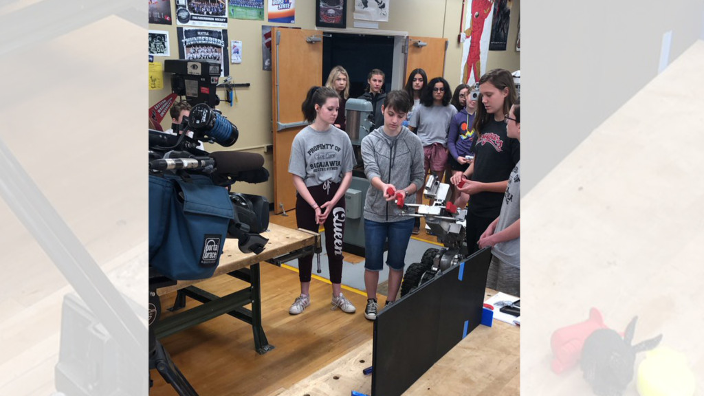 Eighth graders come up with solution to fix Spokane Bomb Squad robot