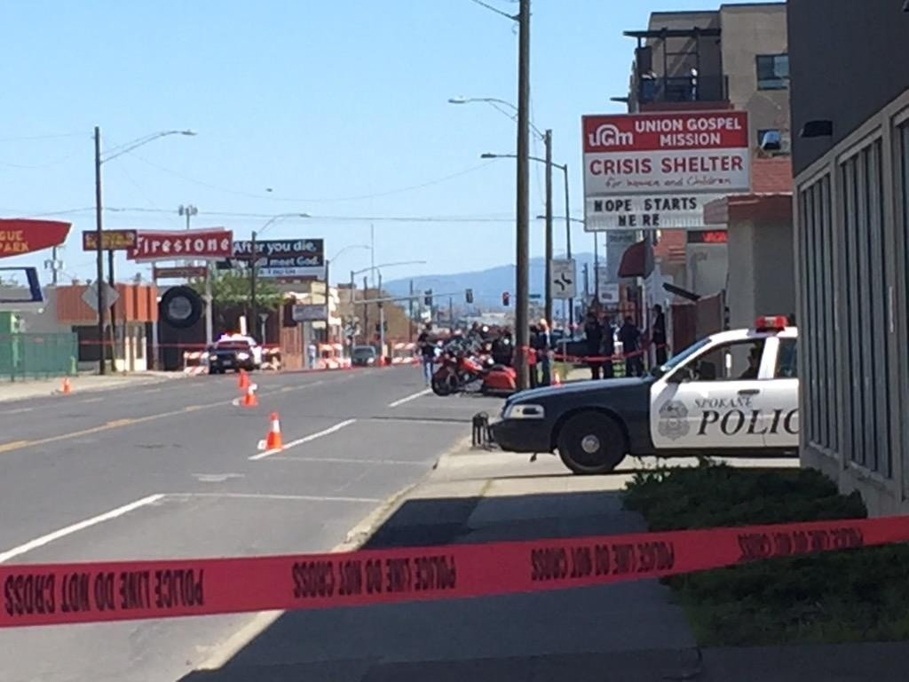 Police investigate shooting outside Hells Angels clubhouse