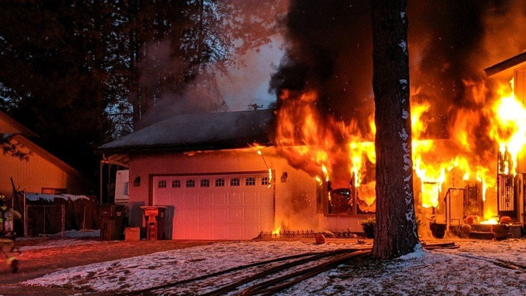 Improperly discarded ashes from wood stove cause Coeur d'Alene house fire
