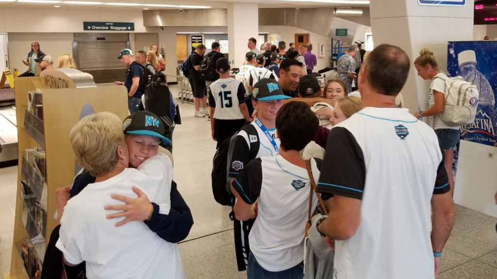 Coeur d'Alene Little League team welcomed back to Northwest