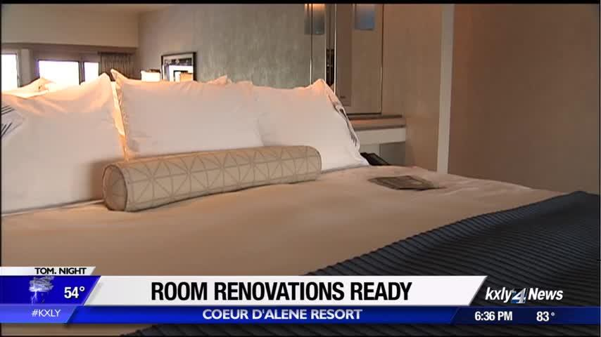 Coeur d'Alene Resort completes 3-year renovation