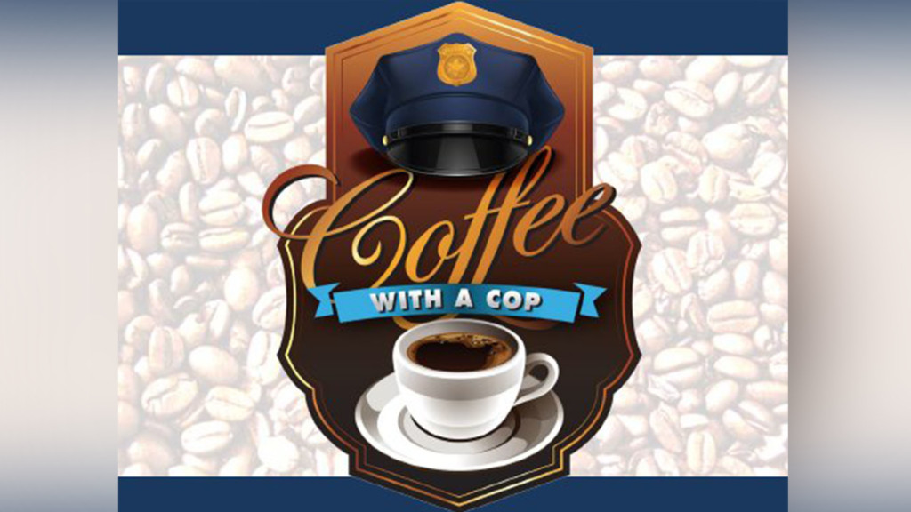 Mark your calendars for National Coffee with a Cop Day!