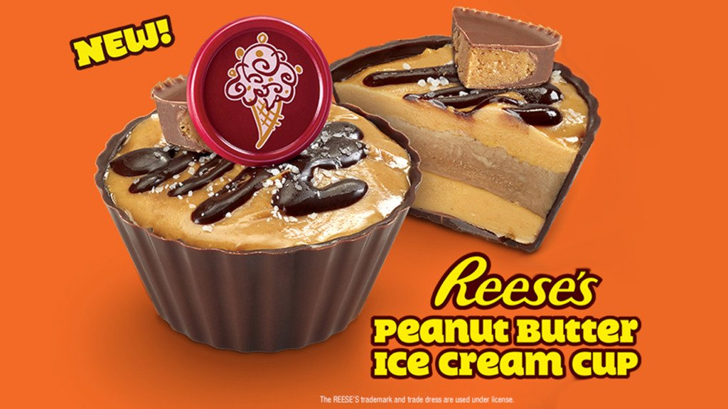 Cold Stone releases new Reese's ice cream dessert