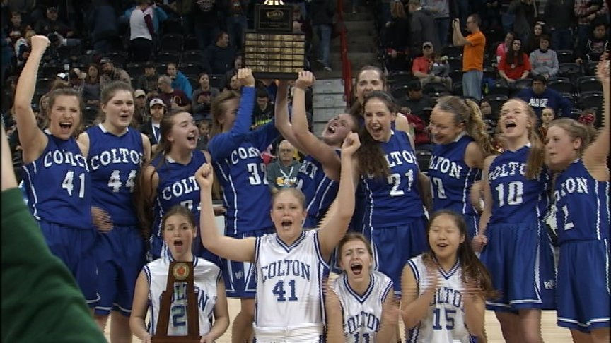 Colton girls overcome big halftime deficit to win 10th state title