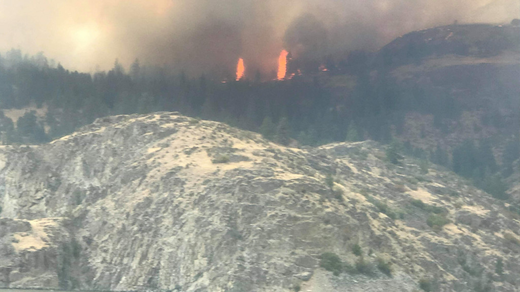 Drone incident slows progress on Williams Flats Fire