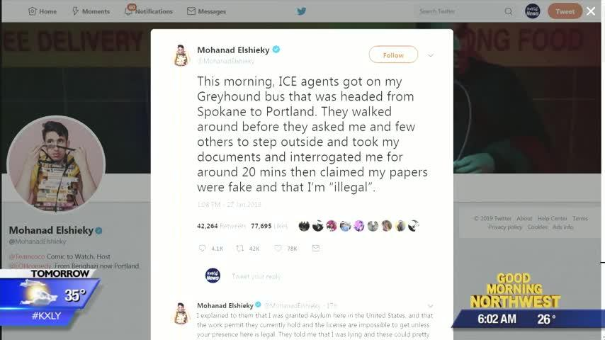 Tweet about Border Patrol encounter on Spokane Greyhound bus goes viral