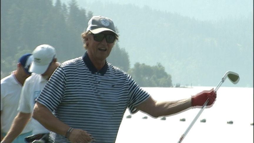 Celebrities flock to Coeur d'Alene to play golf and fight cancer