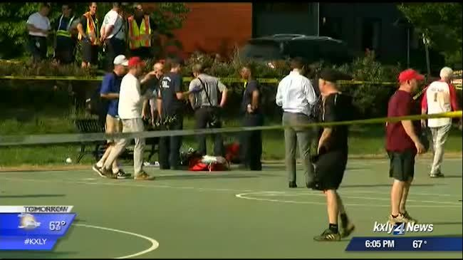Community in shock after baseball field shooting