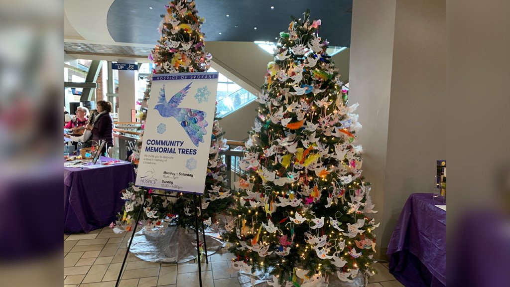 Community Memorial Tree event at River Park Square celebrates lost loved ones