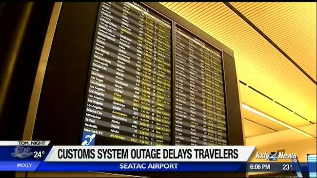 Computer glitch at US Customs causes delays