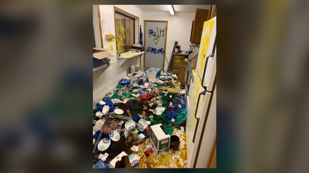 Vandals ransack small Montana town's baseball field concession stand