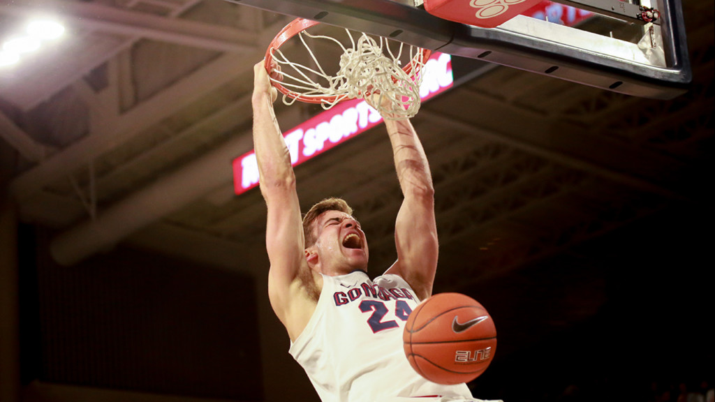 Gonzaga reacts to fifth-straight Sweet Sixteen appearance after win over Baylor