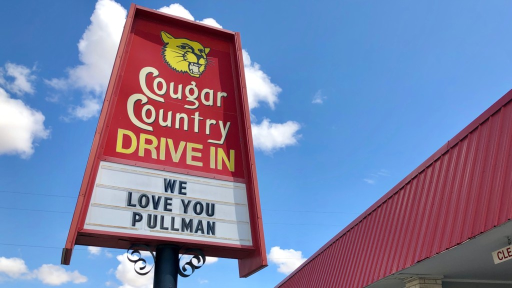 Pullman's iconic Cougar Country Drive-In to reopen Wednesday for limited hours