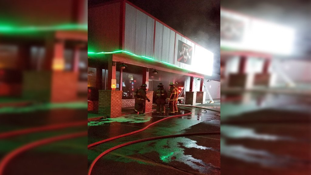 Sunday morning fire damages Pullman's Cougar Laser Arena
