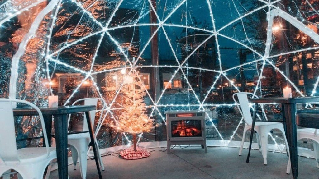 Drink beer in an igloo at this Coeur d'Alene taphouse