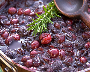 Cranberry Sauce with Port and Dried Figs