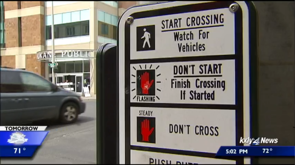 Spokane City Council passes ordinance aimed at improving crosswalk safety