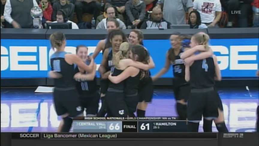 No. 11 Central Valley takes down No. 10 Hamilton Heights to win GEICO girls title