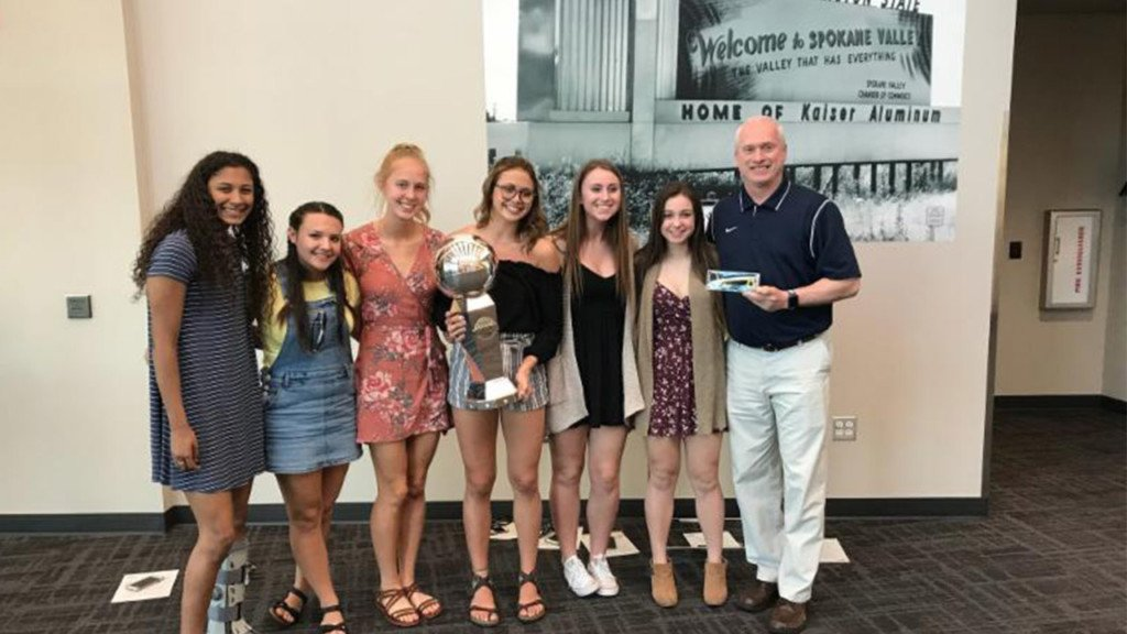 Central Valley girls basketball team honored by Spokane Valley