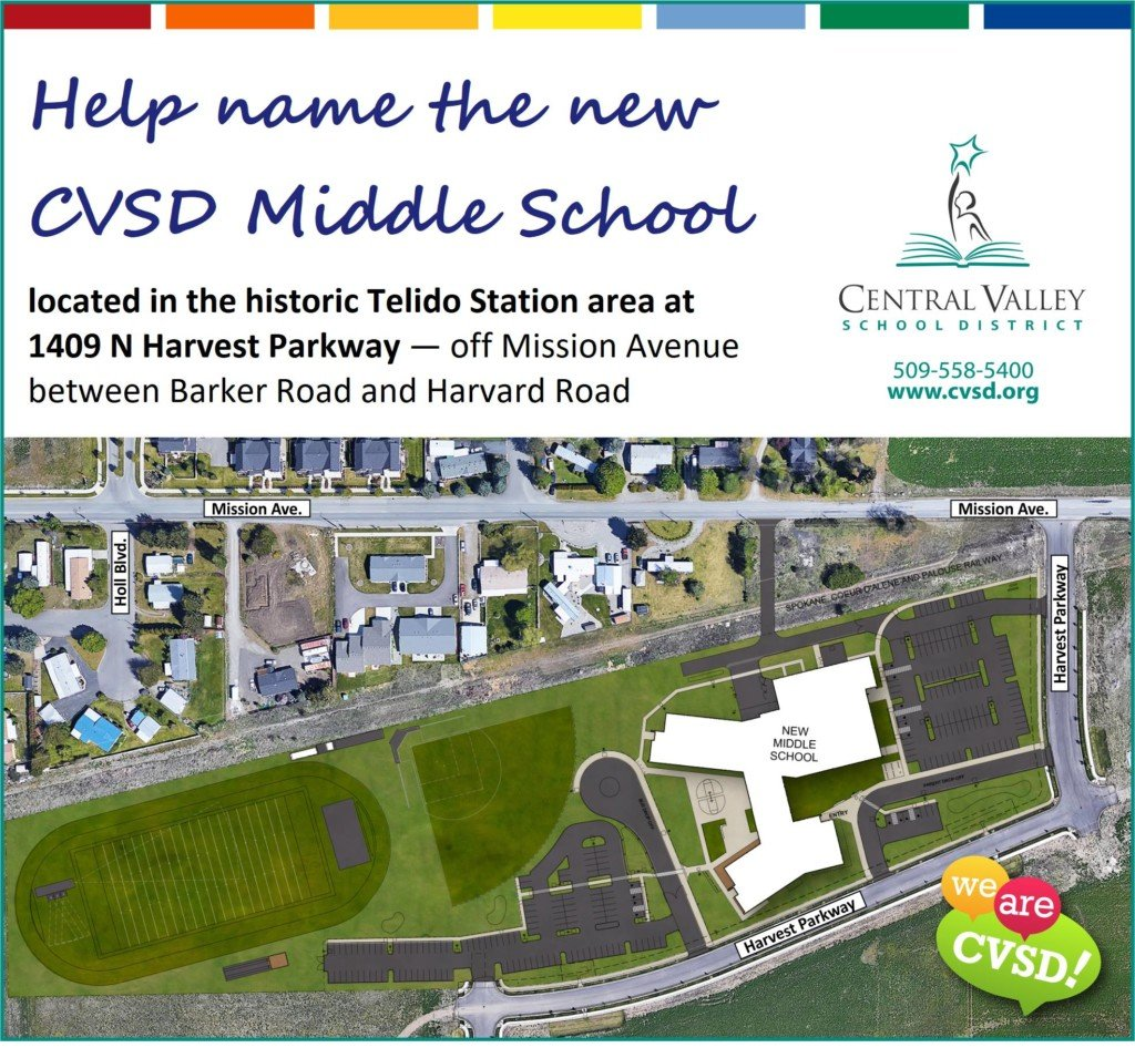 Central Valley School District wants your help naming a new school