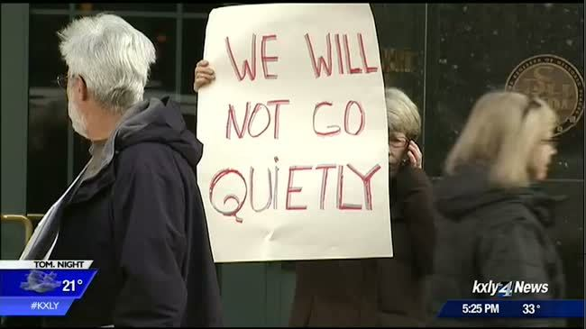 DACA supporters protest at McMorris Rodgers' Spokane office