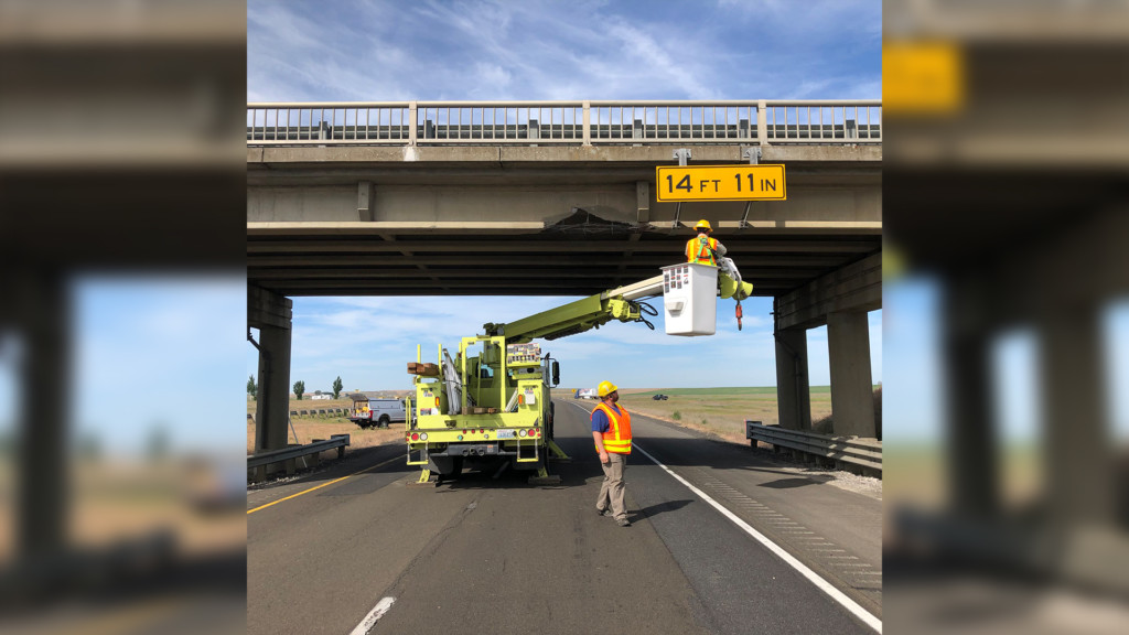 Ritzville bridge struck for the third time since September