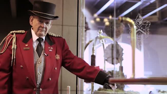 Davenport Hotel Doorman John Reed turns 88