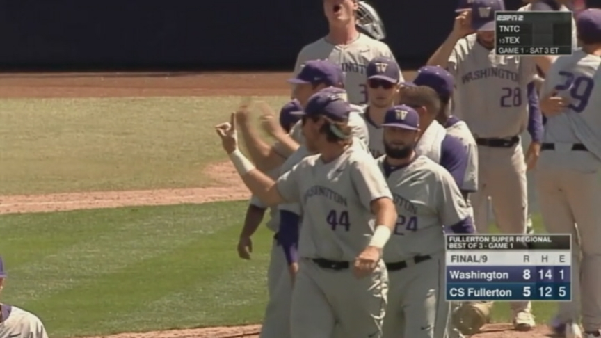 Huskies Are One Win Away From First CWS Appearance