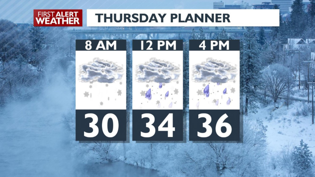 Snow is here! What you can expect for Thursday morning's commute