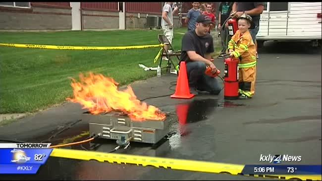 Demo Day a hit with families, aspiring young firefighters