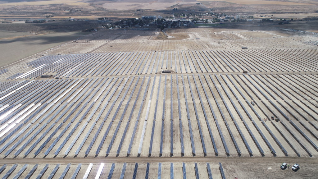 WATCH: Air 4 Drone tours state's largest solar farm
