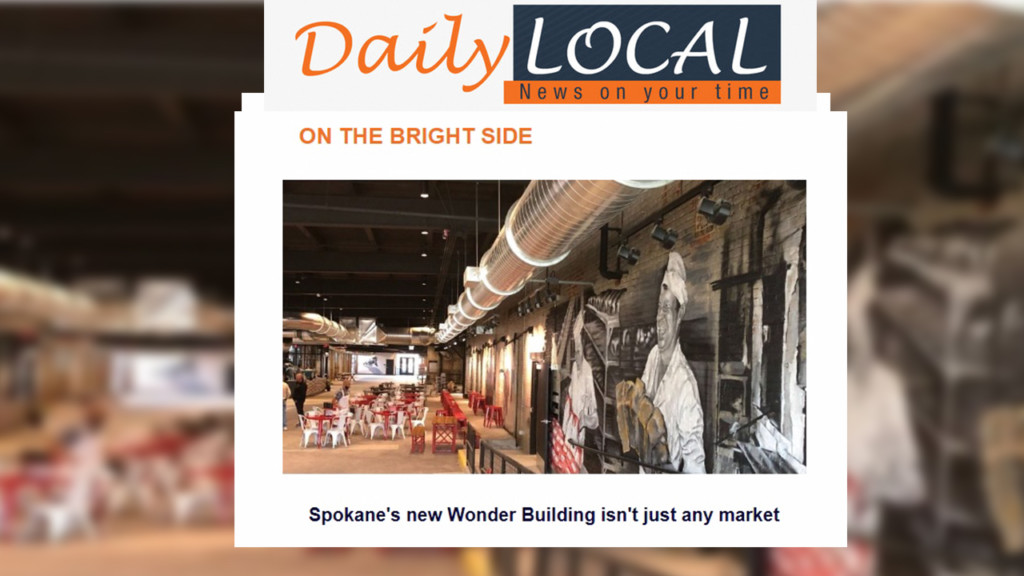 Easily catch up on the news of the day with The Daily Local