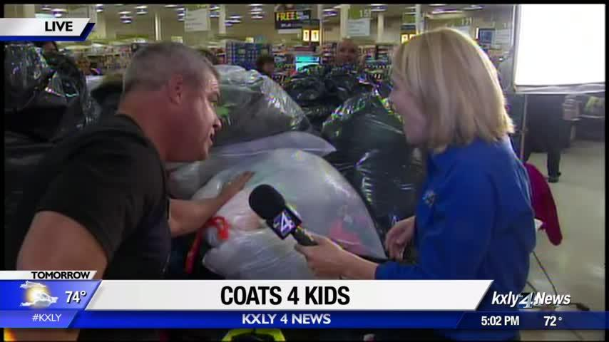 Donate your coats with Coats 4 Kids!