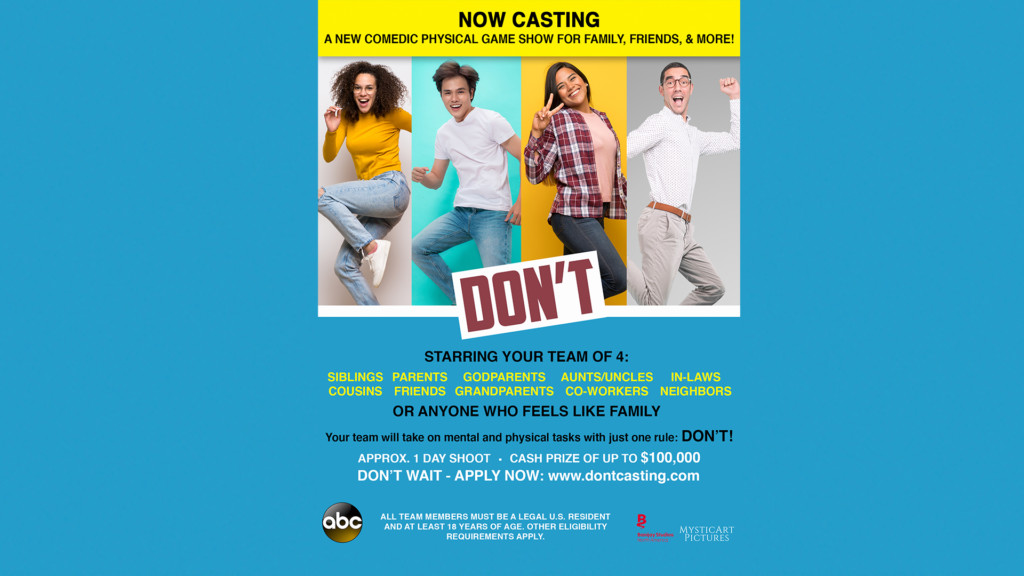 Here's how to audition for ABC's new game show 'Don't!'