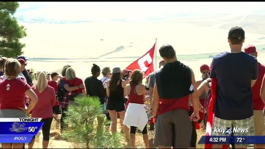 Dozens gather for Tyler's Hike, raising awareness about mental health