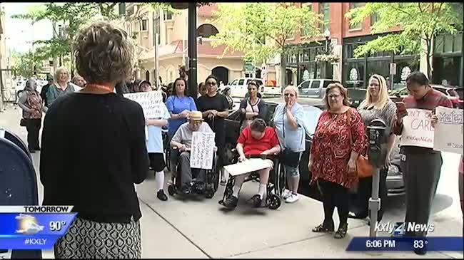 Parents rally against Medicaid Cuts
