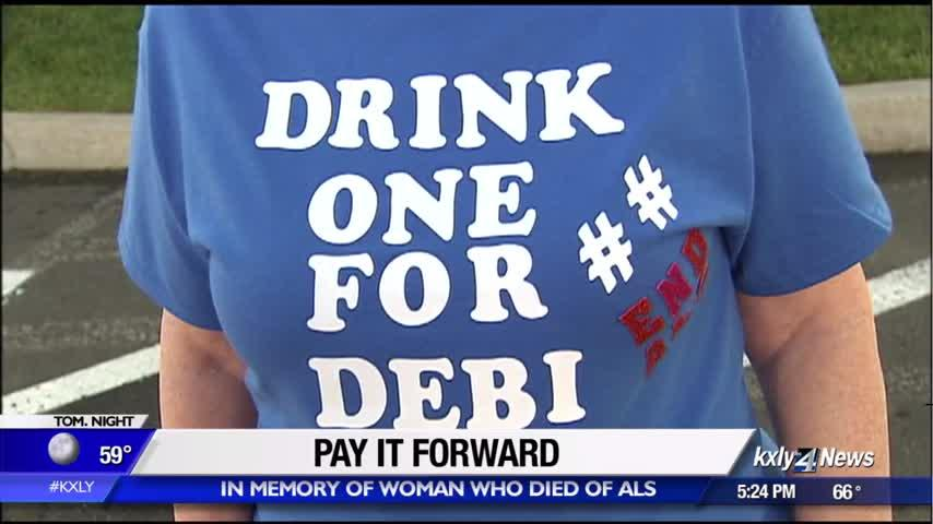 """""""Drink One for Debi"""" helps family pay it forward after devastating loss"""