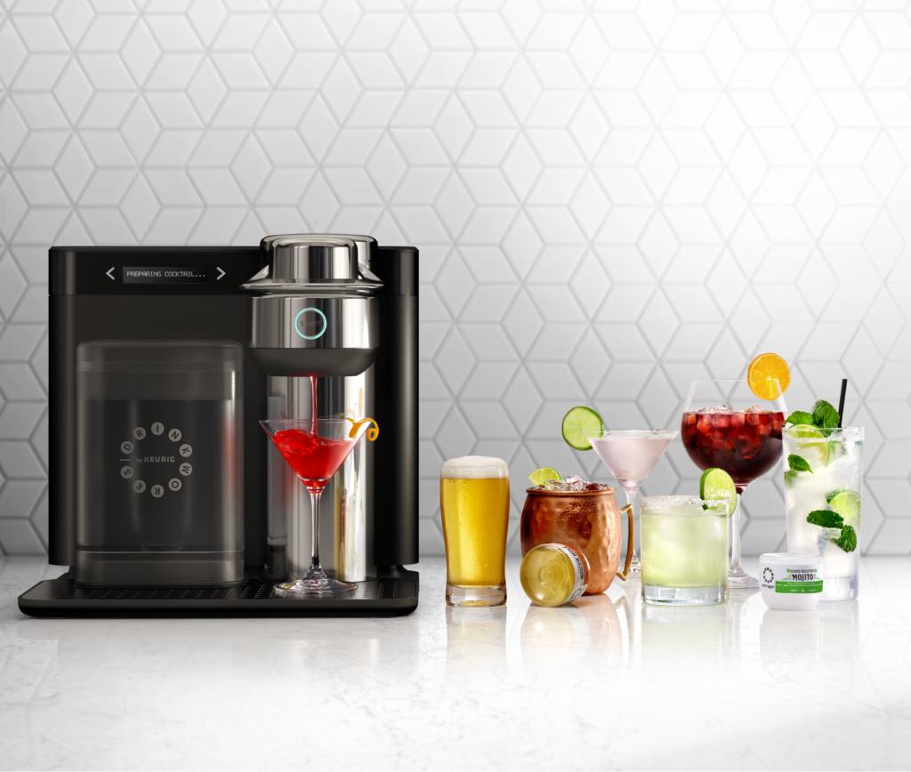 Are you ready for a Keurig that makes cocktails?